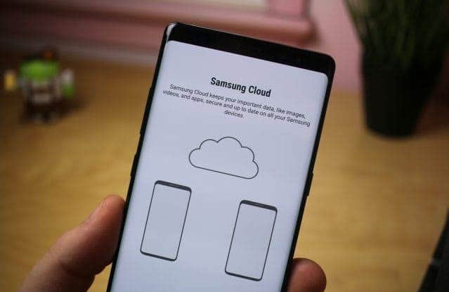 How to back up your Samsung smartphone data to Samsung Cloud